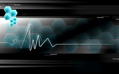 Heart monitor, ECG Electrocardiogram