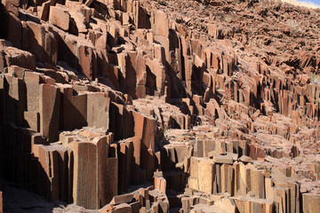 Organ Pipes nel Damaraland Namibia