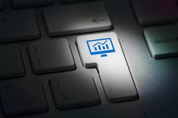 Seo Key On Computer Keyboard