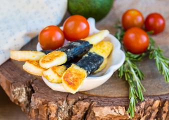 Vegetarian cheese appetizer