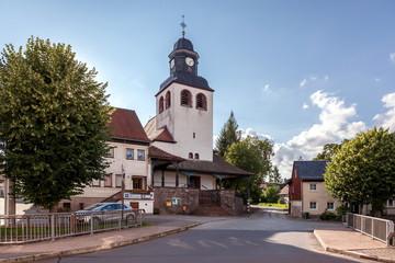 Kirche in Tabarz / Thüringen