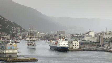 3 mats à Bergen