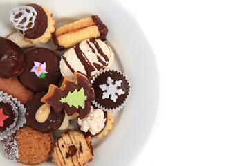 homemade christmas cookies (czech republic)