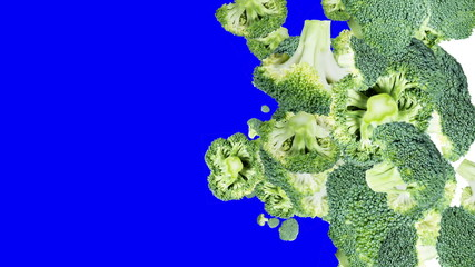 Broccoli Transitions (with alpha)
