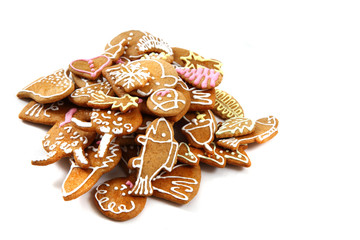 homemade christmas gingerbread (czech republic)