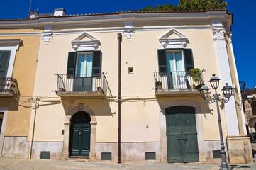 Lops Palace. San Severo. Puglia. Italy.