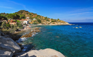 Elba island - San Andrea village