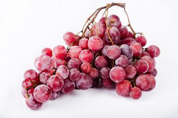Raisin, grappe de raisin rouge
