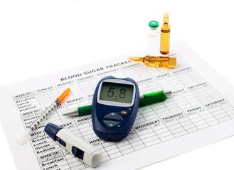 diabetic concept