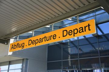 Abflug, Departure, Depart, Flughafen, Reise, Abreise