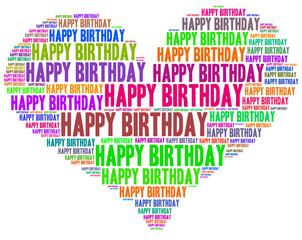 Herzlichen Glückwunsch Happy Birthday