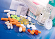 Leinwanddruck Bild - Medikamente