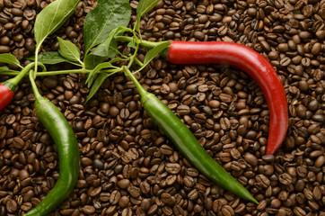Peperoncino e caffè Chili and coffee Chili und kaffee Expo 2015