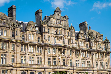 Victorian buiding in Edinburgh
