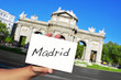 La Puerta de Alcala in Madrid, Spain