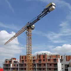 immeuble en construction