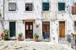 Four entrance doors in Lisbon