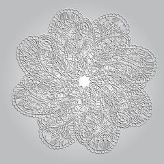 Circle ornament mandala