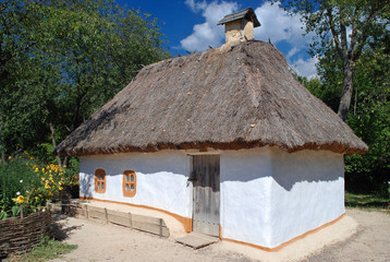 Traditional Ukrainian hut, Museum of Folk Architecture