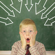 Leistungsdruck Schulkind
