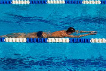 Swimming - Stock Image