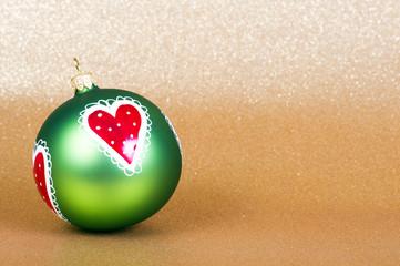 Weihnachtskugel/Weihnachten