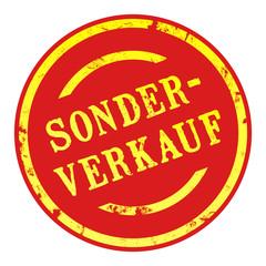 sb1 - SaleButton Rund - Sonderverkauf - g1637