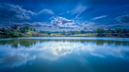 Heaven reflected