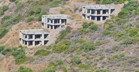 New development projects in Malia, Crete