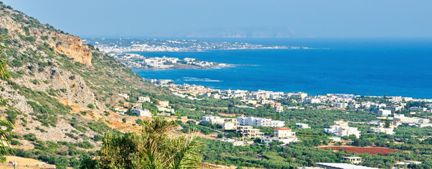 View of Crete, Greece