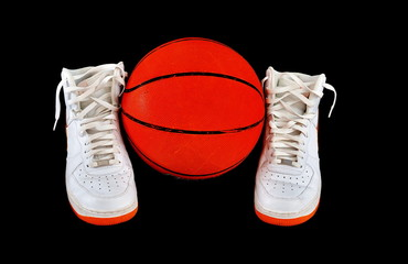 High-top classic basketball shoes sneakers