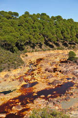 Río Tinto, Minas de Riotinto, Huelva, España