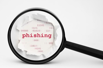 Search for phishing data
