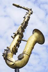 Saxophon Skulptur