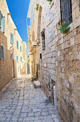 Alley in Jaffa, Tel Aviv