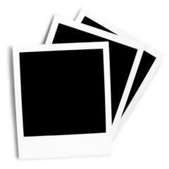 Polaroids Blank - Clipping Path