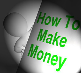 How To Make Money Sign Displays Riches And Wealth