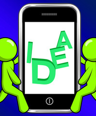 Idea On Phone Displays Thoughts And Invention