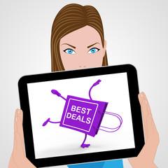 Handstand Shopping Bag Displays Best Deals Bargains Sale And Sav
