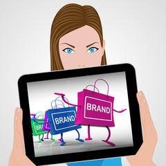 Brand Bags Displays Marketing, Brands, and Labels