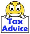 Tax Advice On Sign Shows Taxation Irs Help