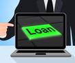 Loan Button Displays Lending Or Providing Advance