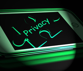 Privacy Smartphone Displays Protecting Confidential  Documents A