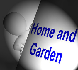 Home And Garden Sign Displays Indoors And Outdoors Design