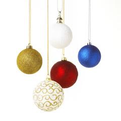 christmas balls hangig