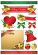 クリスマス リボン 枠