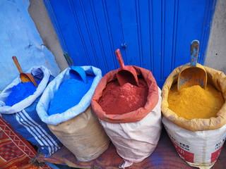 モロッコ 染料