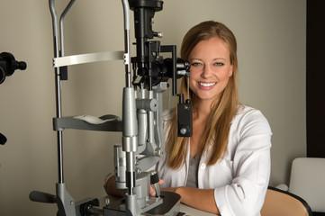 Young Eye Doctor