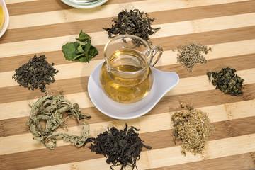 Té y hiervas