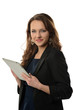 Businesswoman With Electronic Tablet